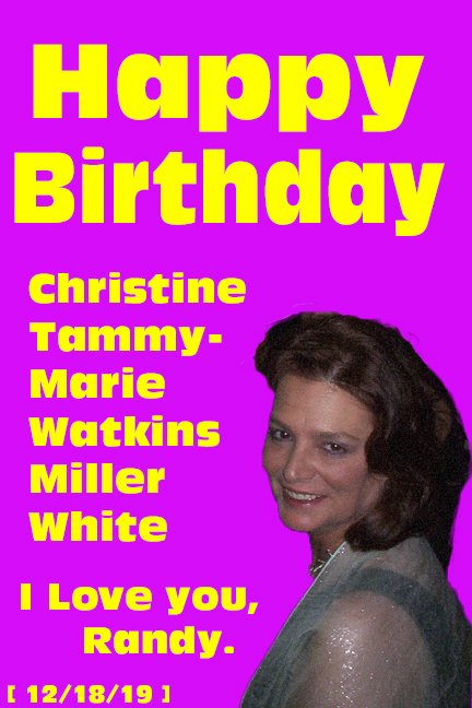 Tammy's Birthday Card 2019